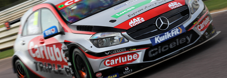 Kwik Fit British Touring Car Championship Ace Adam Morgan Marked His 250th Btcc Start At Thruxton Hampshire This Weekend With Front Running Pace And A Fourth Place Finish In His Carlube Triple R Racing
